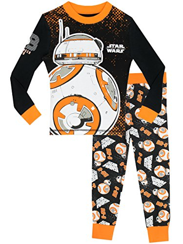 Star Wars Boys' Star Wars BB8 Pajamas Size 14