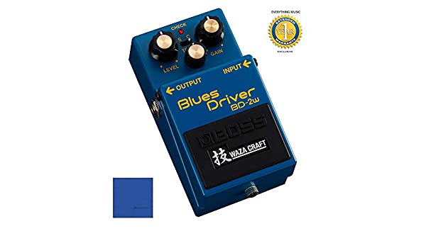 Amazon.com: Boss BD-2W Blues Driver Waza Craft Distortion Pedal with 1 Year Free Extended Warranty: Musical Instruments