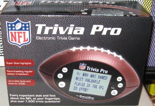 (NFL Handheld Electronic Trivia Pro Game)