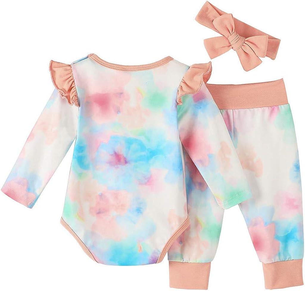 Conjunto de ropa y diadema para bebé con teñido anudado de ...