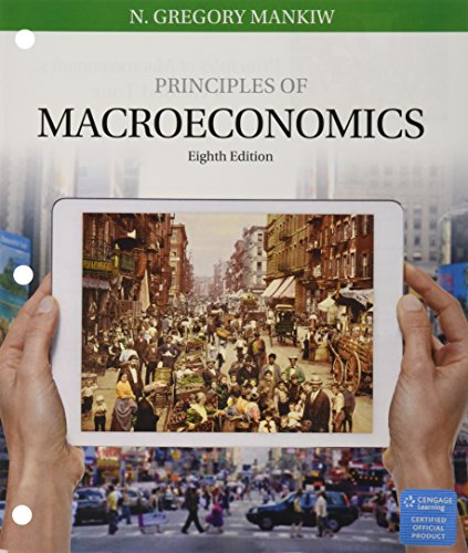 Bundle Principles of Macroeconomics Loose leaf Version 8th Aplia 1 term Printed Access Card