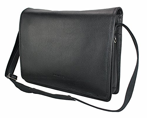 * Kim Kranholdt Sonderposten * XXL Bag–Bolsa compañero de vuelo Messenger Bolso Business trabajo–Bolso para hombre bolso Mujer de piel