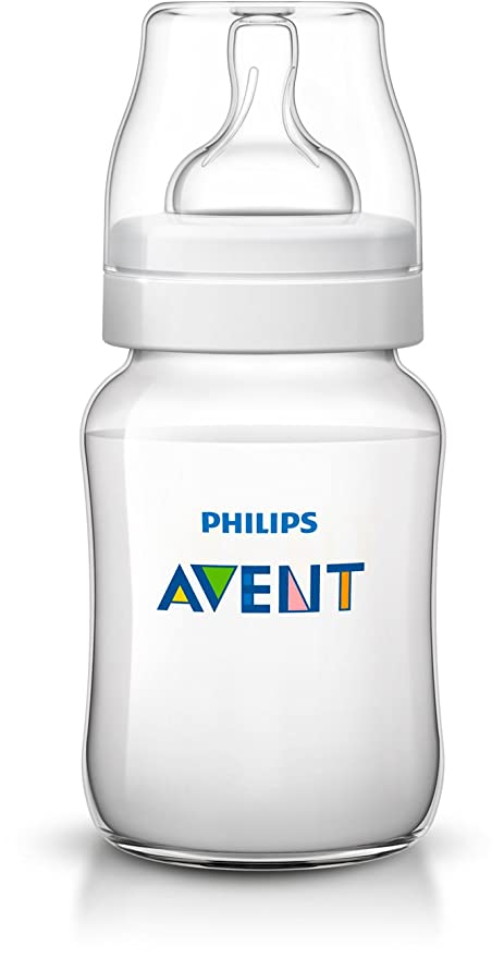 9 Oz SCF403//47 4 Wide Neck Bottles BPA Free Philips Avent Anti Colic Bottle