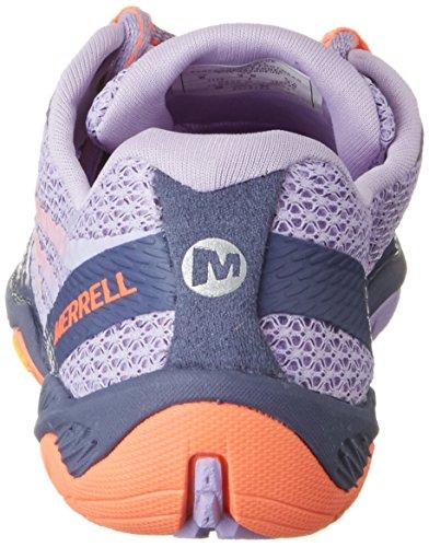 Merrell Frauen Pace Glove 3 Trail Laufschuh Krone Blau