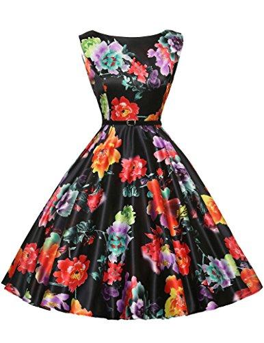 GK Vintage Dress - Vestito - Senza maniche - Donna Color 14