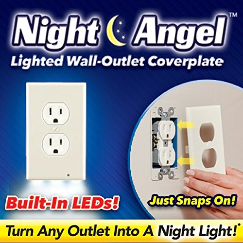 Led Night Light Outlet Cover - 4