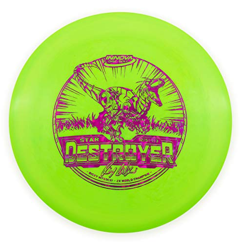 Innova Ricky Wysocki 2X Star Destroyer Distance Driver Golf Disc [Colors May Vary] - 170-172g