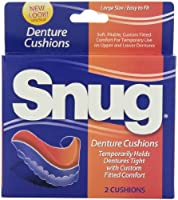 Snug Denture Cushions, 2-Count Cushions (Pack of 6)