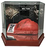 #10: Mike Tyson Signed Everlast Boxing Glove In Photo Background Glove Case JSA