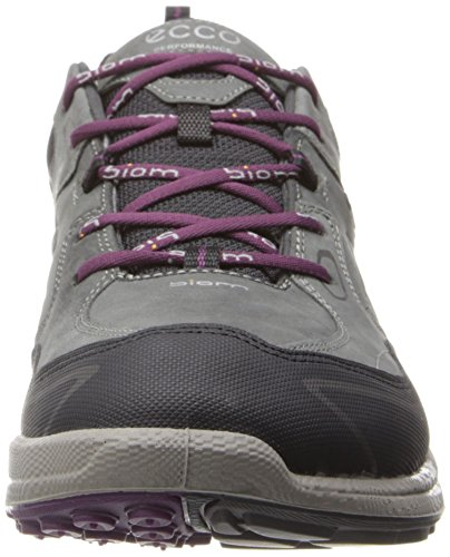 Scarpe Burgundy Outdoor 58638 Grigio Shadow Ladies Ultra Biom ECCO Sportive black Dark Donna XSqPt1w