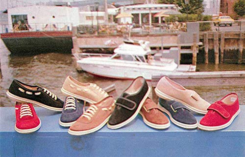New York City Ska-Doo Sport Shoe Advertising Vintage Postcard J78120