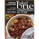 Gourmet du Village Brie Toppings Mix Sundried Tomato & Pesto, 16g