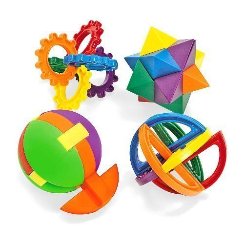 Fun Express Plastic Puzzle 2 Pack