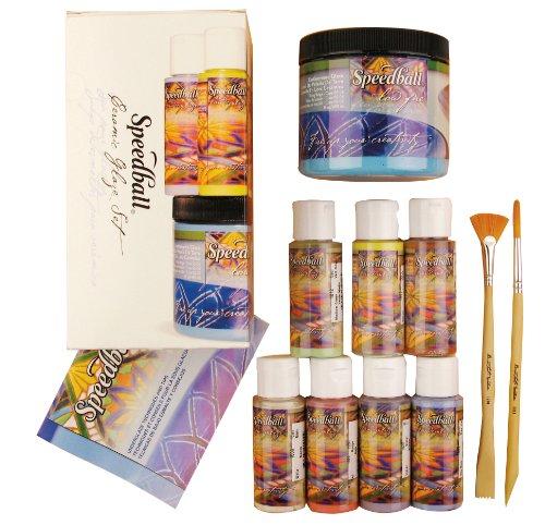 - Speedball Ceramic Glaze Starter Kit