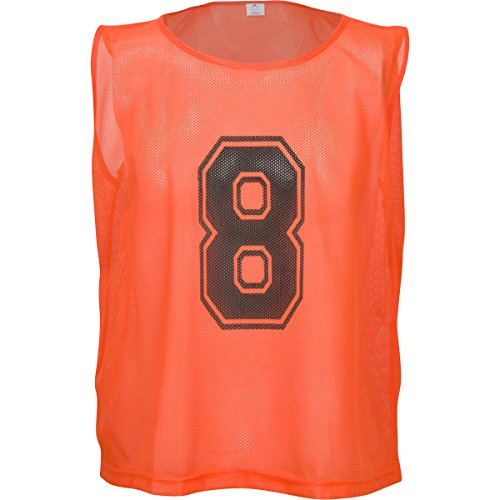 675733b17 Athllete Set of 12 - Scrimmage Vest/Pinnies / Team Practice Jerseys with Free  Carry