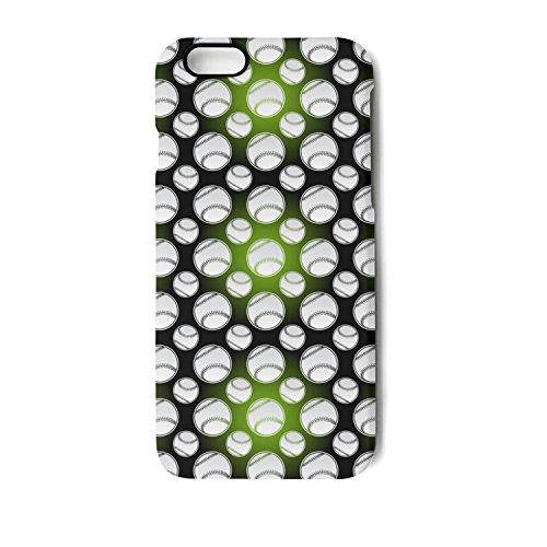 Seamless Baseball Balls IPhone 7 Plus/8 Plus Case Bumper Matte TPU Soft Rubber Silicone Protective Back Cover
