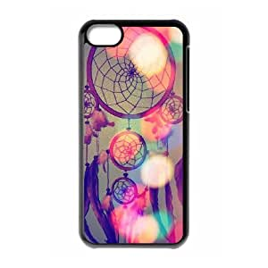 Colorful Dream Catcher ZLB528518 Custom Case for Iphone 5C, Iphone 5C Case