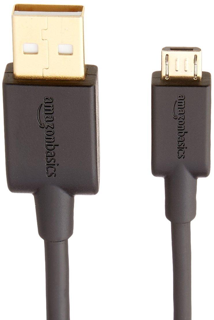 Cavo USB 2.0 da A maschio a Micro-B Confezione singola Nero 1,82 m Basics