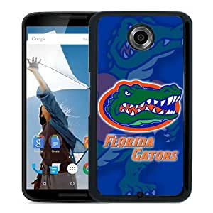 Newest Google Nexus 6 Case ,Beautiful And Unique Designed With Southeastern Conference SEC Football Florida Gators 3 Black Google Nexus 6 Cover Case Fashionable And Popular Designed Case Good Quality Phone Case