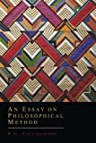 An Essay on Philosophical Method, R.G. Collingwood, 1614275548