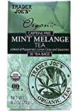 Trader Joe's Organic Caffeine Free Mint Melange Tea (Box of 2)