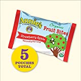 Annies Homegrown Organic Fruit Bites - Orchard Strawberry Apple - 0.63 oz - 5 ct