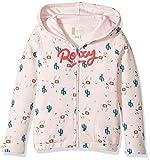 Roxy Little Girls' Let's Get Lost Hoodie, Rose Quartz Peru Travel, 5