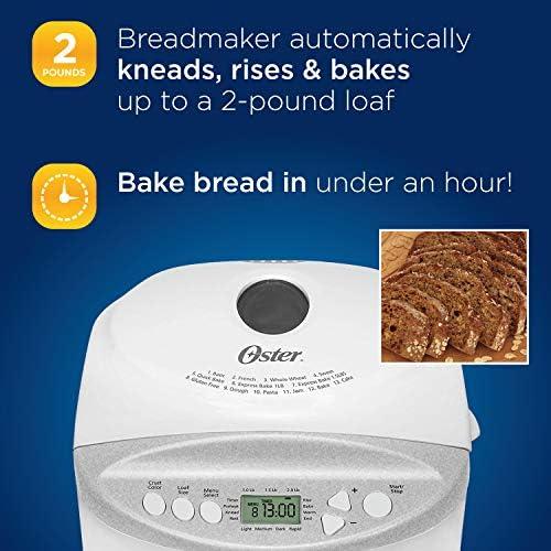 Amazon.com: Máquina para hacer pan Oster CKSTBR9050 ...