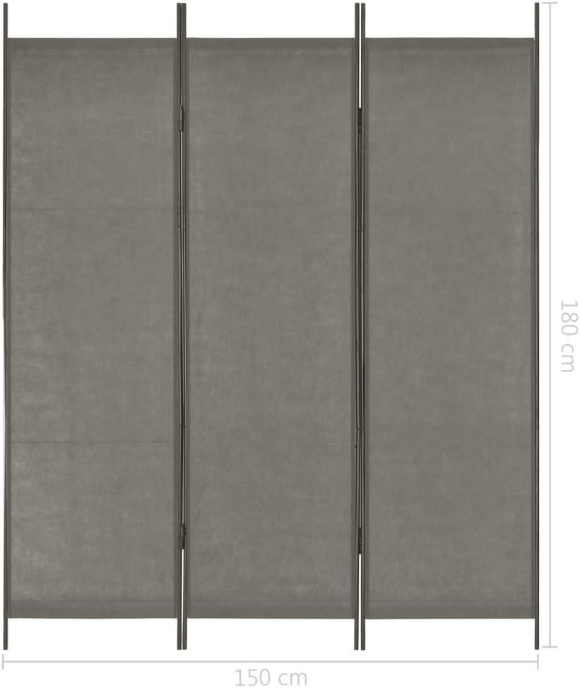 vidaXL Parete Divisoria 160x170 cm Fiore Pannello Privacy Paravento Separ/è