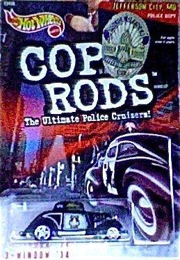 Wheels Hot Rods Cop - Hot Wheels 1999 Cop Rods: Jefferson City MO 3-Window '34