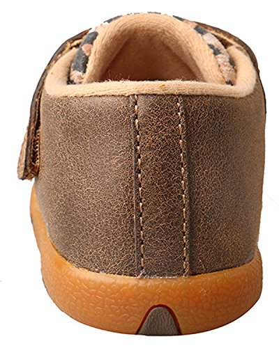 Pictures of Twisted X Infant-Girls' Leopard Driving Moccasins - 5
