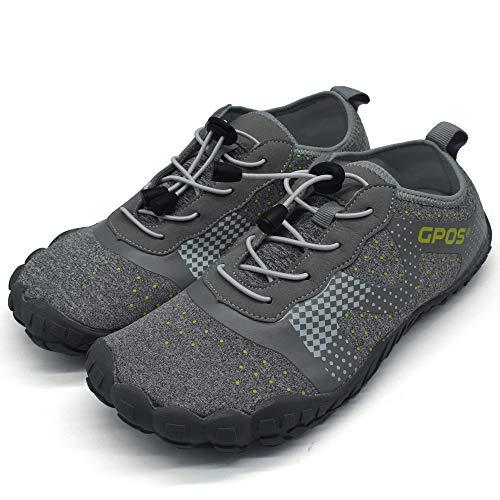 COFACE Herren Atmungsaktiv Wasserschuhe Leichte Aquaschuhe Schnell Trocknend Weicher Wassersport Schuhe