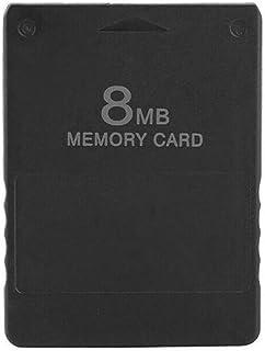 WOSOSYEYO 8/16/32/64/128 / 256MB Jeu de Carte mémoire pour Console PS2 Sony Playstation 2 Compatible avec Sony Playstation