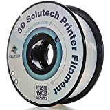 3D Solutech Natural Clear 1.75 mm 3D Printer PLA Filament 2.2 LBS (1.0KG) - 100% USA
