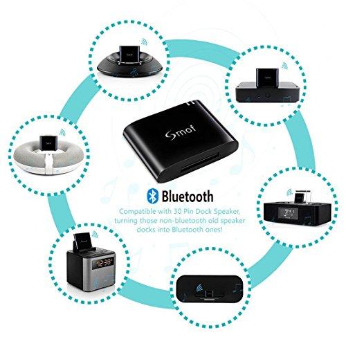 Smof Bluetooth 4.1 A2DP Audio Music Receiver Bluetooth