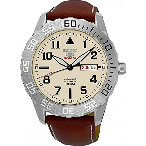 Cream Dial Brown Leather - 4