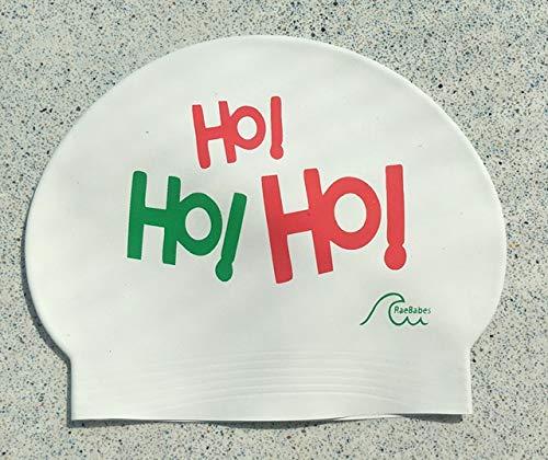 Raebabes Swim Caps - Ho Ho Ho (Verbiage Christmas)
