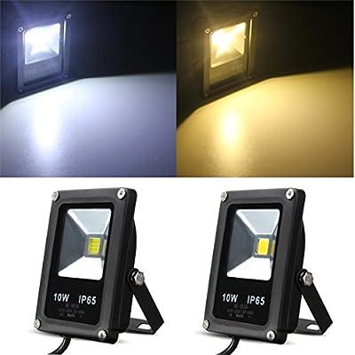 10W White IP65 LED Flood Light Wash Outdoor AC85-265V