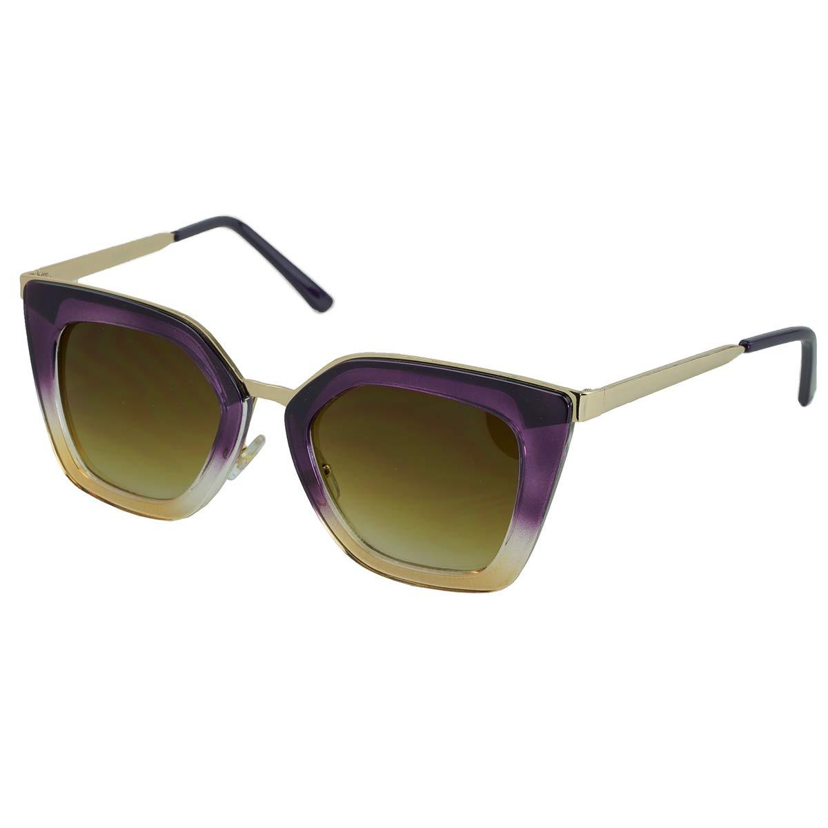 Proozy - Gafas de Sol con Hebilla (Cristal), Color Morado ...