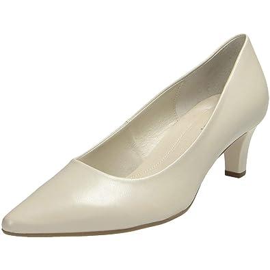 Gabor Pumps, Schuhe Damen creme gr. 6,5 (40)