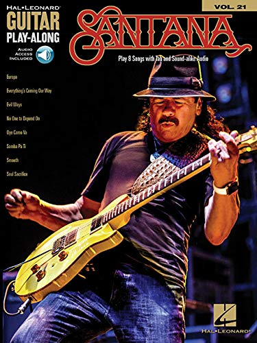 Guitar Play-Along Volume 21: Santana Book/Online Audio Hal Leonard ...