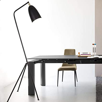 GJ Nordic Minimalista Moderna lámpara de pie trípode Simple ...