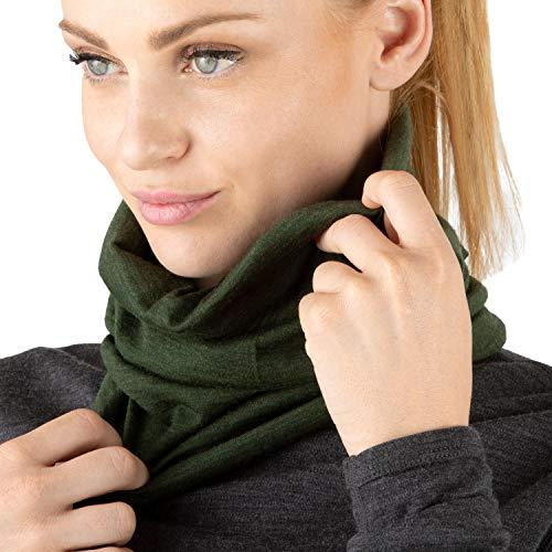 100/% Merino Wool Neck Gaiter Neck Warm Face Cover Unisex Classic Headband