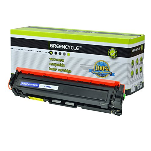 greencycle Compatible Toner Cartridge Replacement for HP 410A (Black , 1 pk )