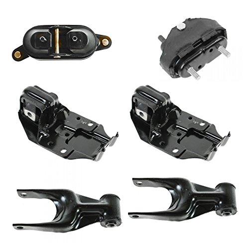 Complete Engine Transmission Torque Mount Set Kit for Chevy Pontiac Oldsmobile Complete Engine Mount Set
