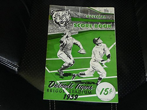 1959-DETROIT-TIGERS-BASEBALL-PROGRAM-VS-KANSAS-CITY-AS-ROGER-MARIS-HOME-RUN