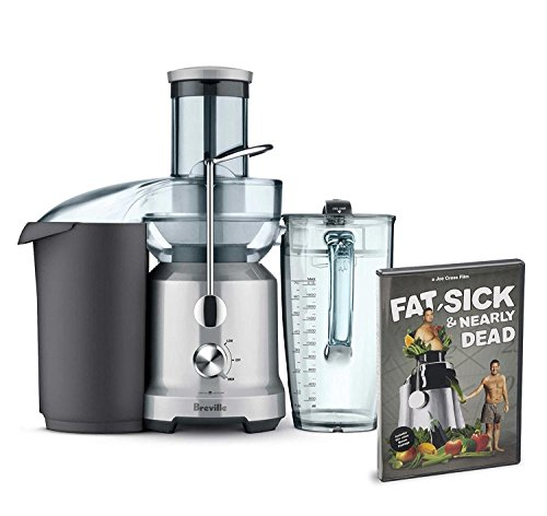 Breville BJE430SIL Bundle The Juice Fountain Cold with DVD