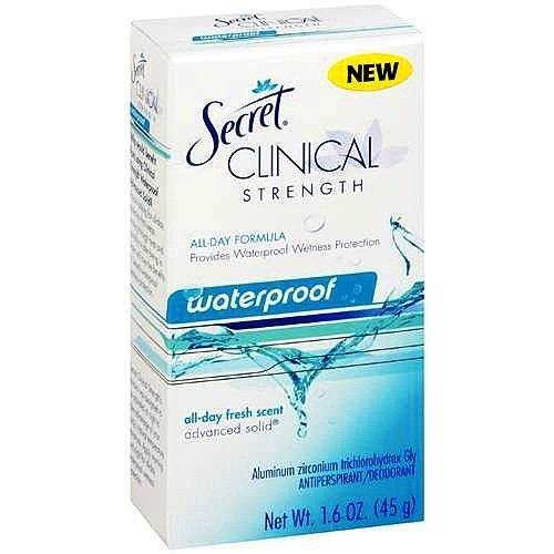 Secret Advanced Solid Antiperspirant Deodorant, 1.6 oz (P...