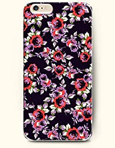 OOFIT Apple iPhone 6 Case 4.7 Inches - Gorgeous Flowers