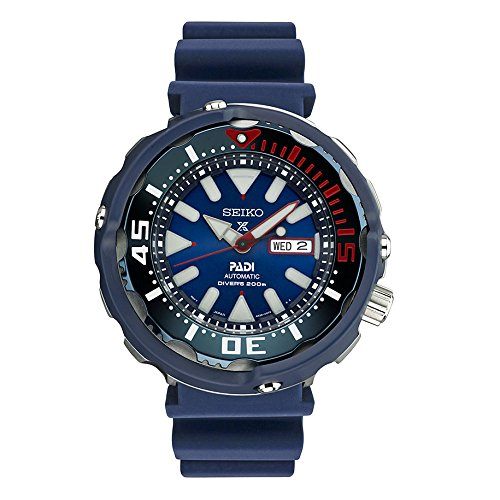 - Seiko Men's Prospex Padi Special Edition Automatic Diver Watch SRPA83